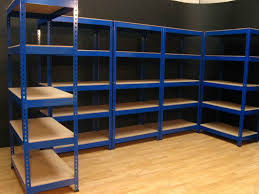 garage shelves can add a lot of additional square footage for