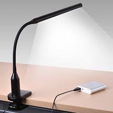 Drafting Table Arm 24 Led Clip On Light Sunix Premium Dimmable Reading Lamp