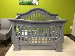 Davenport Convertible Crib Baby Appleseed Davenport Convertible Crib In Moon Grey