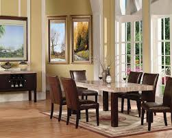 modern formal dining room double pedestal support legs rectangular