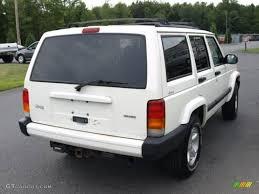 2000 jeep cherokee black 2000 stone white jeep cherokee sport 4x4 16029824 photo 4