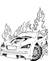 wheels fire coloring netart