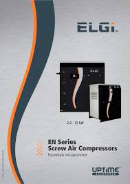 en series compressors elgi pdf catalogue technical