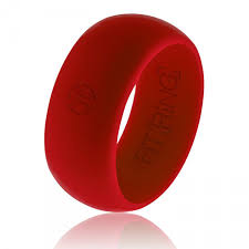 mens silicone wedding band s silicone wedding ring free shipping fit ring