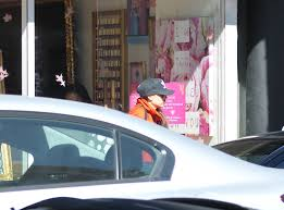 victoria beckham and harper seen leaving nail salon in beverly