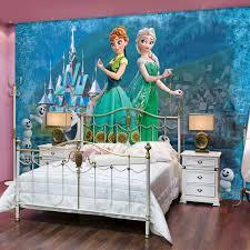 Schlafzimmer Anna Eiche Vlies Wandbild Tapeten Fototapete Kinder Disney Frozen Elsa Anna
