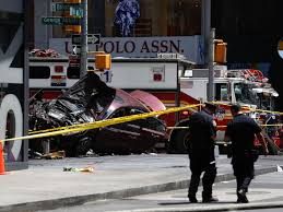 woman killed 22 injured after car plows into pedestrians in times