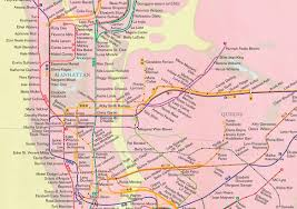 Nyc Traffic Map City Of Women U0027 Turns The Subway Map Into An Homage To The City U0027s