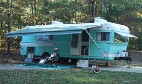 vintage travel trailer restoration 1970 holiday rambler youtube