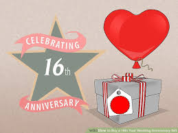 16th wedding anniversary gifts 3 ways to buy a 16th year wedding anniversary gift wikihow