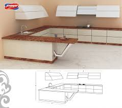 u shaped kitchen design for your modern home jacpl