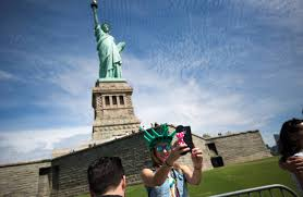 Pedestal Access To Statue Of Liberty New Statue Of Liberty Museum Planned Wsj