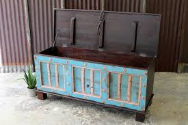 Storage Bench With Cushion Beautiful Teal Storage Bench For Extra Storage Home Inspirations