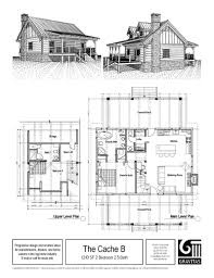Vacation House Floor Plans Log Cabin Plans Free