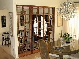 Ekne Room Divider Screen Room Divider Elegant Mirrored Room Divider Screen Open