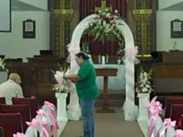 church decorations for wedding wedding flowers ceremony church decor nisha s designs