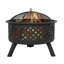 zeny fire pit patio backyard grill metal fireplace fire bowl