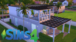 sims 4 modern old style house tour youtube