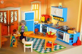 playmobil cuisine 5329 maison de ville playmobil 5302 sonnette meublée playmobil
