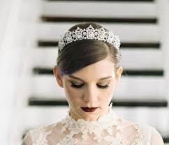 bridal tiara 5 of our favorite etsy shops for bridal hair accessories brides