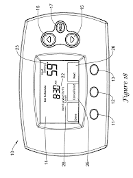 patent us7861941 automatic thermostat schedule program selector