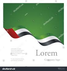 Colors Of Uae Flag New Brochure Abstract Design Modular Pattern Stock Vector