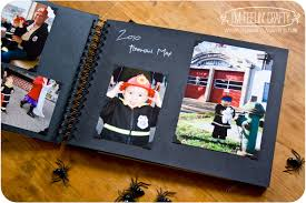 Old Fashioned Photo Albums Halloween Scrapbook U2013