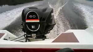 moteur evinrude sportfour 60 hp youtube