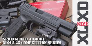 springfield xd tactical light size xl xd springfield armory xdm 5 25 competition series gun
