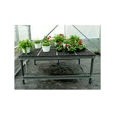 av lifetime bench fixed legs commercial greenhouse benches