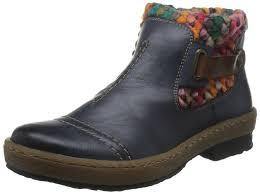 rieker s boots australia rieker 74663 00 s ankle boots amazon co uk shoes bags