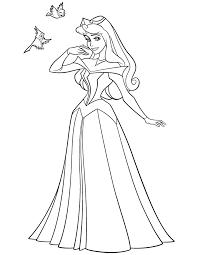 sleeping beauty princess aurora coloring u0026 coloring pages