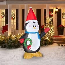 penguin outdoor decorations comfy