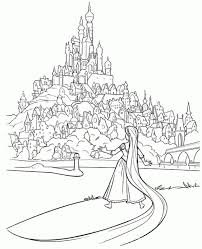 tangled coloring pages 6fnt2