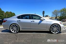 lexus ls430 rims lexus ls460 with 24in vellano vti wheels fly autos pinterest