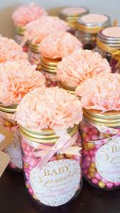 diy baby shower favor gifts all you need is mason jars pink and