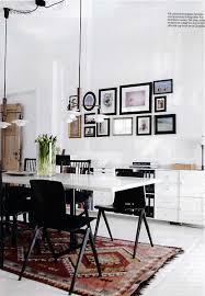 Kilim Kitchen Rug Kilim Dining Room Nordic Modern Kilims Diamond Pattern And