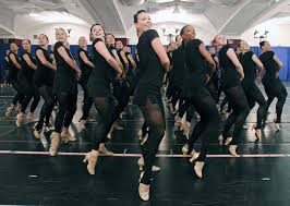 Radio City Ny Shows Rockettes Rehearsal Times Union