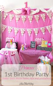 1st birthday party princess 1st birthday party miss mae s days