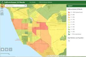 ventura county map in pursuit of environmental justice state maps