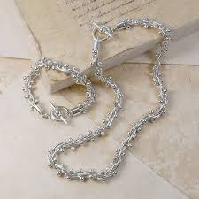 sterling silver necklace set images Solid sterling silver jewellery set by otis jaxon silver jewellery jpg