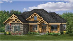 house of the week trusses and stone create rustic touch