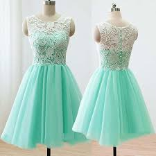 mint bridesmaid dresses modern scoop a line mint bridesmaid dress with lace
