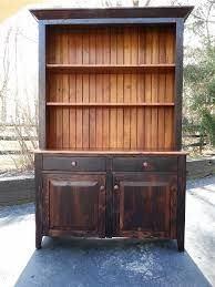 reclaimed wood curio cabinet antique amish built unfinished reclaimed barn wood cabinet hutch