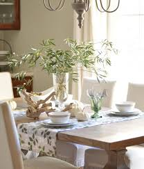 beautiful table cloth design dining room interesting dining room decoration with bamboo leave