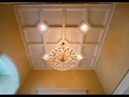 Coffered Ceiling Lighting by Tilton Box Beam Coffered Ceiling System Easy 1 Day Install