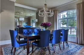 Light Blue Dining Room Chairs Fascinating Royal Blue Dining Chairs Room Chair 2 Of Ataa Dammam