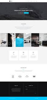 single page brochure templates psd modus single page portfolio psd template graphberry