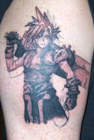 final fantasy cloud tattoo