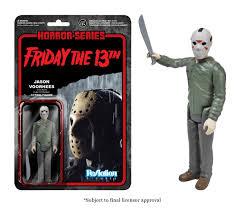 amazon com funko horror classics jason voorhees reaction figure